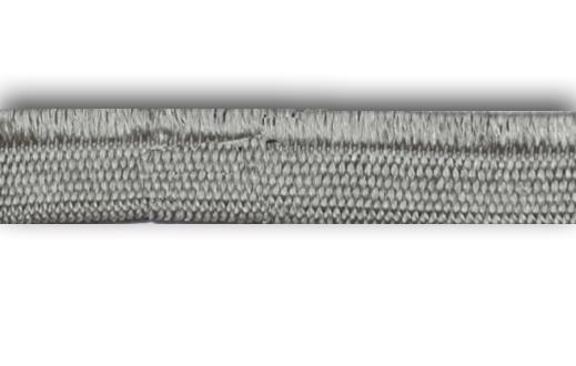 Zierlitze grau Glanzkante 10mm