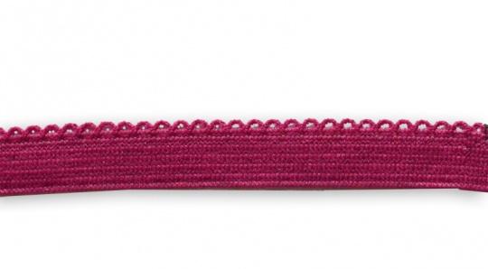 Zierlitze rot fuchsia  Bogenkante 10 mm