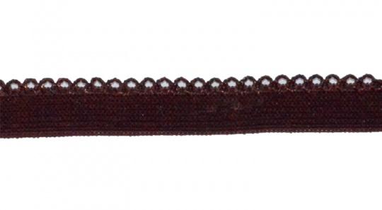 Zierlitze braun Bogenkante 10 mm