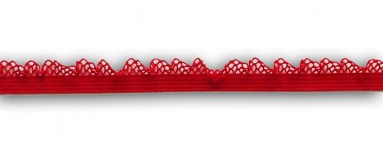 Zierlitze rot Häkelkante 11mm