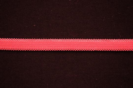 Zierlitze rot beidseitige Bogenkante  10mm