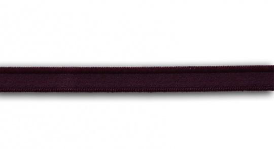 Zierlitze rot aubergine dunkel  Glanzkante 9mm
