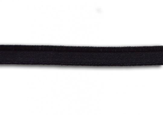 Zierlitze schwarz Glanzkante 9mm
