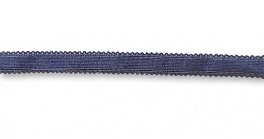 Zierlitze blau beidseitige Bogenkante 11mm