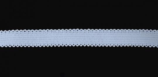 Zierlitze hell blau beidseitige Bogenkante 11mm