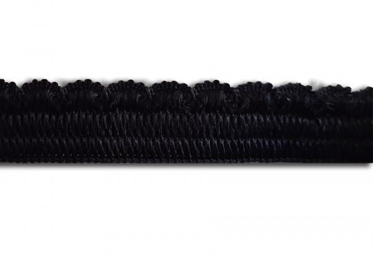 Zierlitze schwarz Bogenkante 9mm