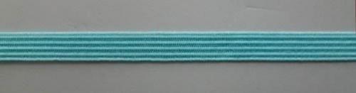 Einziehgummi blau türkis 7mm