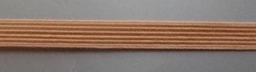 Einziehgummi  Farbrichtung haselnussbraun 9mm