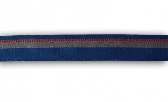 Bundgummi  blau grau rot  30 mm