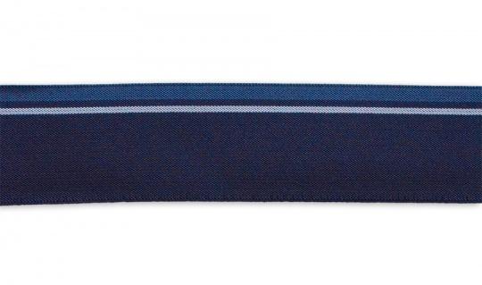 Bundgummi  Farbrichtung indigo/silbergrau/bläulich grau   35mm