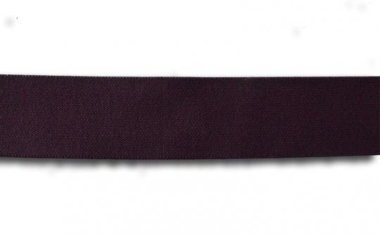 Bundgummi  dunkel aubergine 30mm