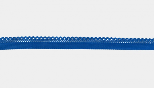 Zierband blau elastisch 11mm