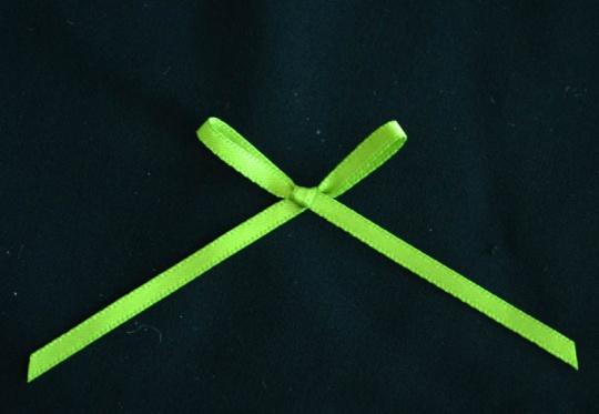 Schleifchen grün lindgrün