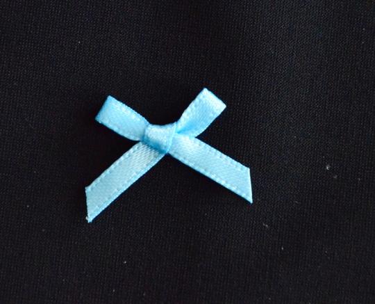 Schleifchen blau