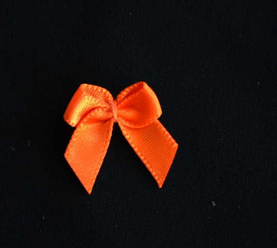 Schleife orange