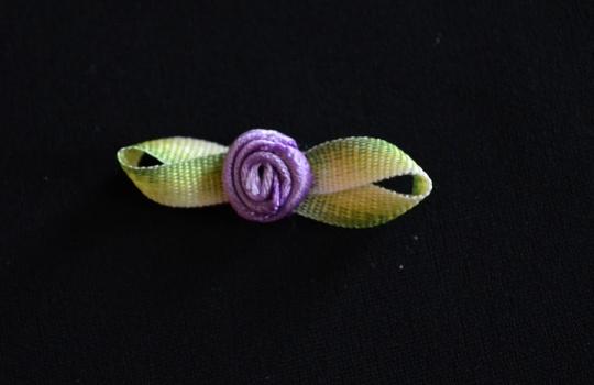 Schleifchen  lila Rose