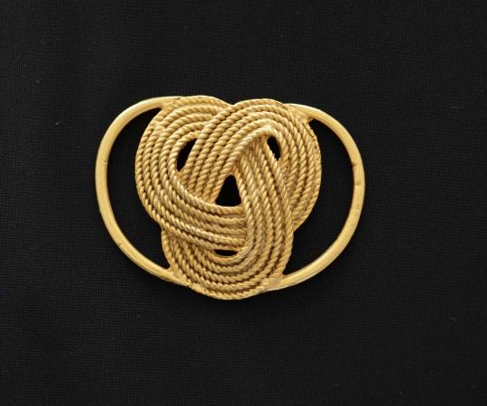 Badeaccessoire gold Metall