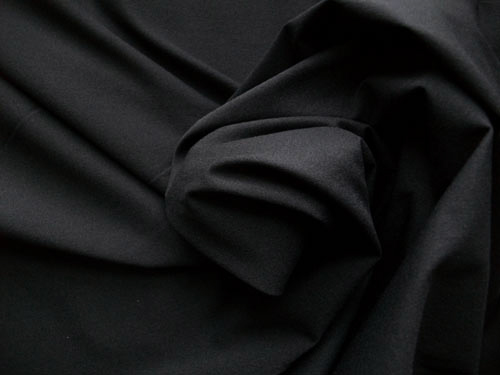 Badefutter schwarz geraut  elastisch Meterware