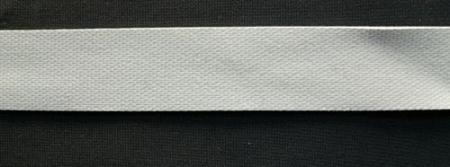 Badegummi grau hell 16mm