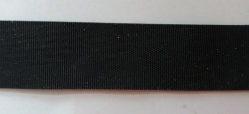 Badegummi grau dunkel 25mm individuell abgeschnitten