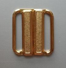 Bikiniverschluss gold 20mm