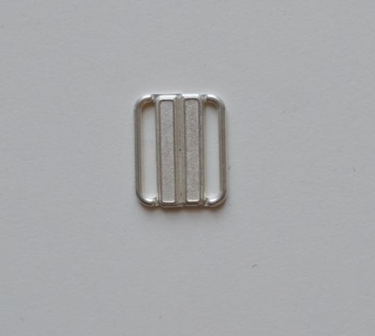 Bikiniverschluss silber 25mm