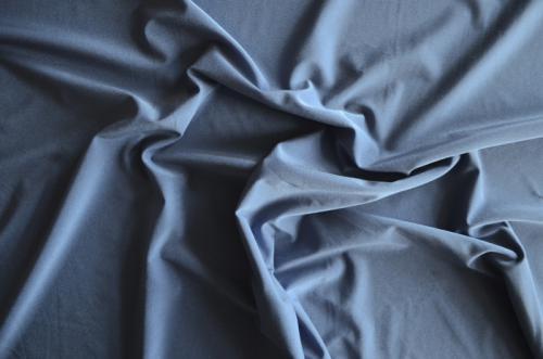 Wäscheware blau mittel Jersey Meterware individuell abgeschnitten