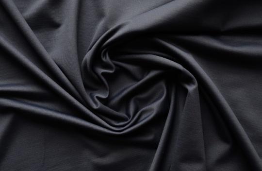 Wäscheware  Jersey dunkel blau individuell abgeschnitten