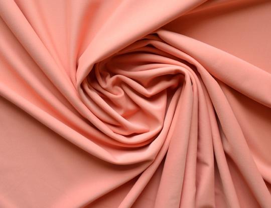 Mikrofaser deep blush rosa/apricot dunkel