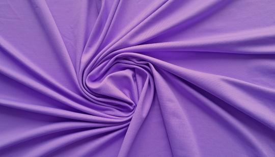 Mikrofaser violett leuchtend Jersey individuell abgeschnitten