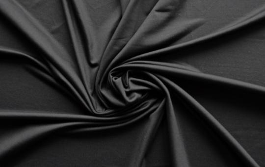 Mikrofaser schwarz individuell abgeschnitten