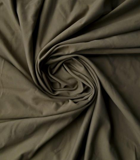 Mikrofaser grau-braun Jersey