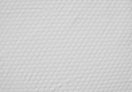 Mikrofaser weiß Wabenmuster