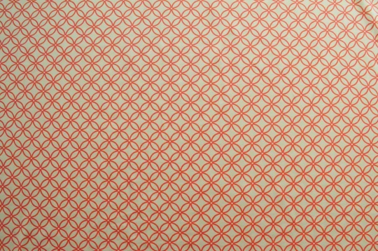 Mikrofaserdruck Jersey haut rot Muster Blumen Kreise