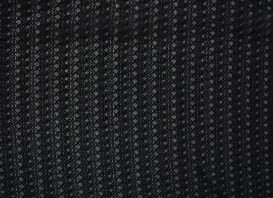 Tüll elastisch schwarz Karo