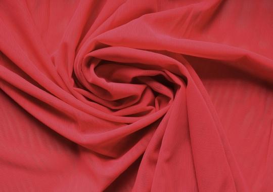 Tüll elastisch pink-rot