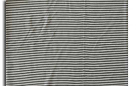 Leibweite weiß grau Streifen 32cm