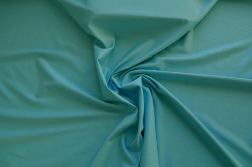 Baumwoll Jersey  blau türkis Meterware individuell abgeschnitten