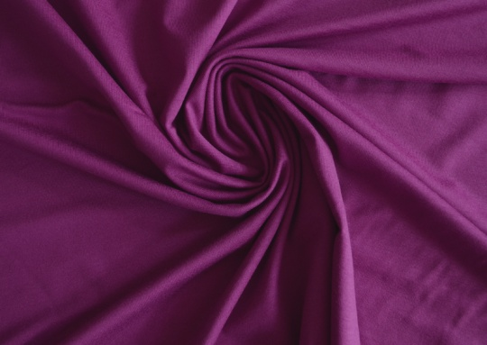 Viskosejersey  Farbrichtung pink violett