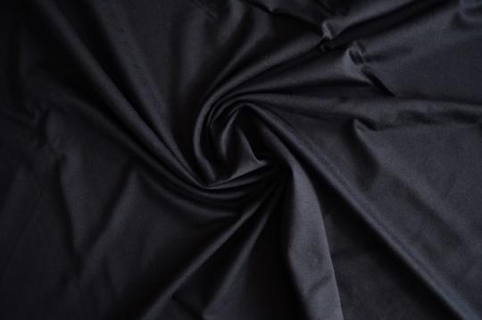Viskosejersey Farbrichtung schwarzblau