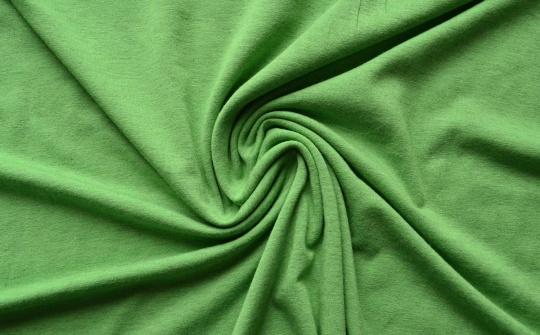 Baumwolle grün Melange