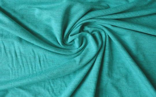Baumwolle grün türkis Melange