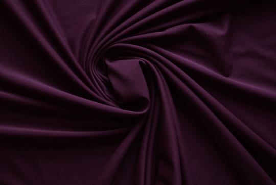 Baumwolle Farbrichtung lila dunkel  individuell abgeschnitten