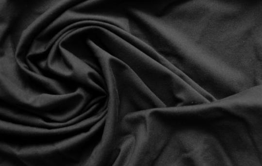 Baumwollmix schwarz