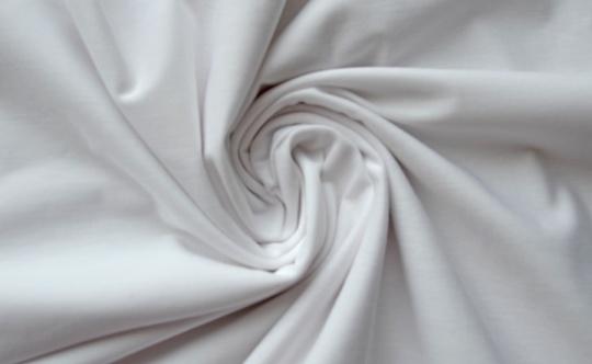 Baumwolle weiß individuell abgeschnitten