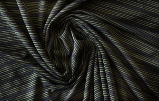 Strukturstoff Mikrofaser Farbrichtung schiefergrau /nachtblau Streifen/schwarz
