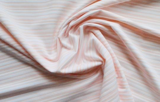 Strukturware aprikot weiß transparent Streifen