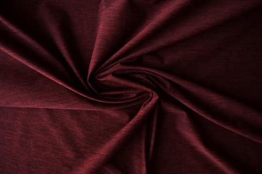 Strukturstoff  rot dunkel Melange