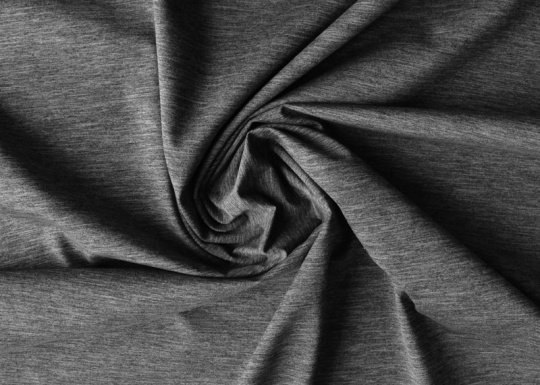 Strukturstoff  grau Melange