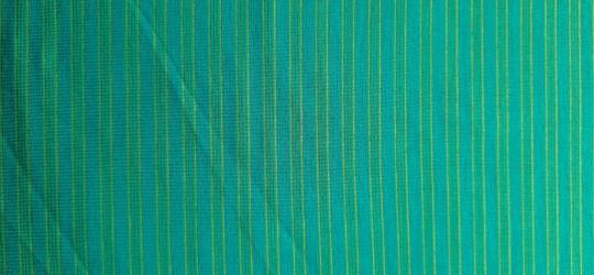 Strukturstoff  grün gelb Streifen